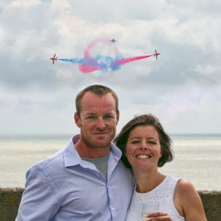 Airbourne proposal after surprise 1,000-mile journey
