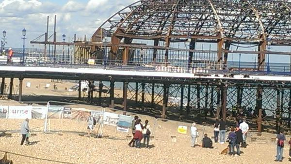 Workman who died after pier fall named