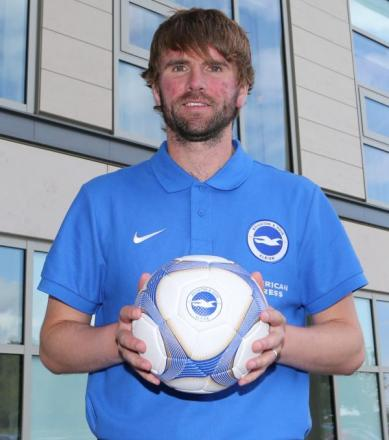 Paddy McCourt has signed for Albion. Pic by Paul Hazlewood/BHAFC