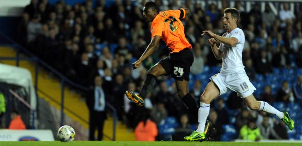 Rohan Ince hits the post at the end of a slick counter raid tonight