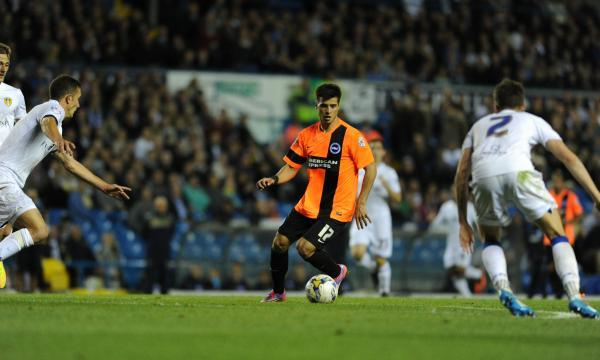 Joao Teixeira in action at Leeds