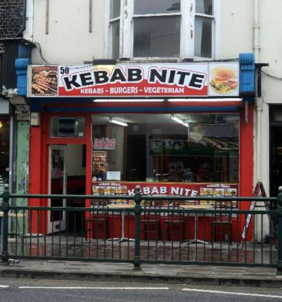 The manager of Kebab Nite in London Road, Brighton, said all efforts were being made to clean the premises
