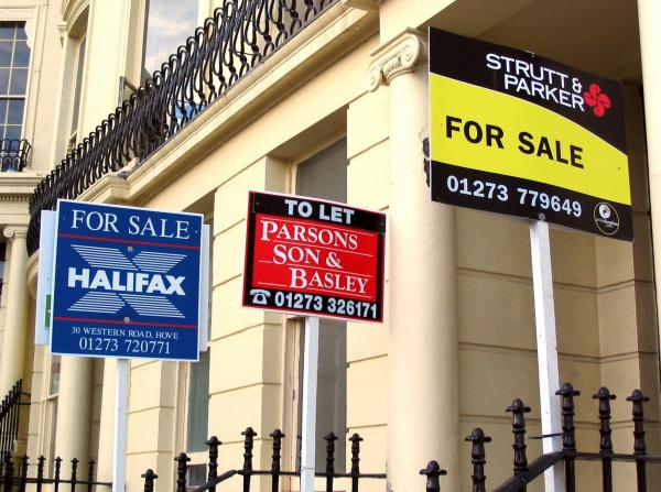 Property prices in Brighton and Hove have risen by 10% in a year