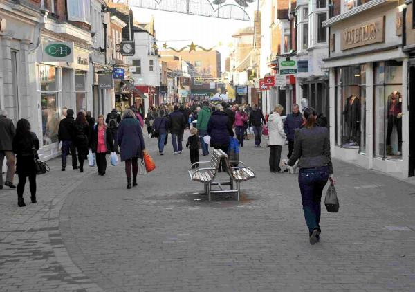 Horsham is the sixth highest employer of 50 to 64-year-olds