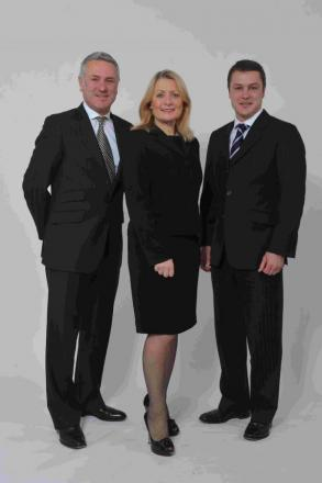 Rod Flavell, Sheila Flavell, Andy Brown