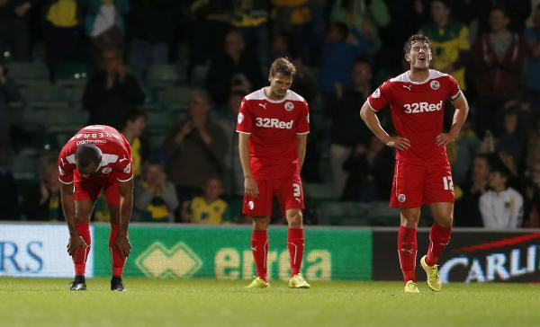 It's agony for Crawley after Norwich score their third goal