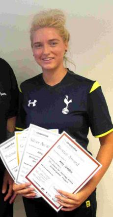 Amy spurred on for Prem club