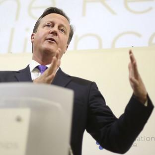 David Cameron will tell business leaders that the UK is 'one of the oldest