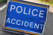 Child injured after collision with wall