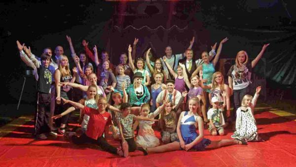Seaford Musical Theatre Juniors get ready for The Big Top