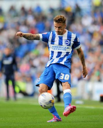 Joe Bennett, one of Albion's 11 new signings