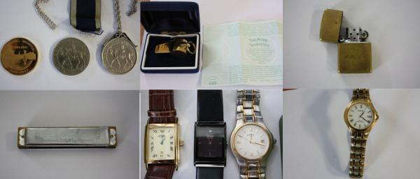 The stolen items recovered by Surrey Police, some perhaps from Sussex