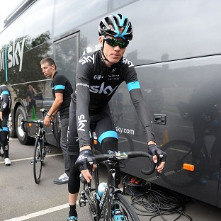 Chris Froome moved to within 19 seconds of the leader