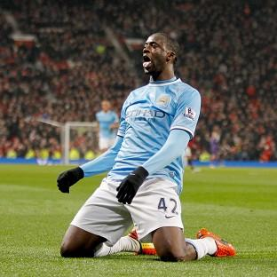 Yaya Toure was subjected to racist chanting at CSKA Moscow last season