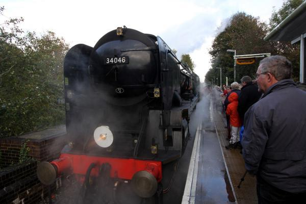 60,000 extra visitors to Bluebell Railway