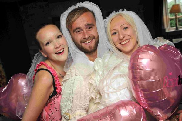 Charity 'brides' raise £2k for children's charity