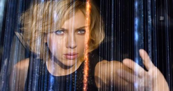 Scarlett Johansson is Lucy in Lucy