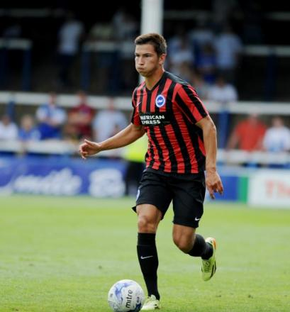 Vitalijs Maksimenko is now fourth choice centre-back at Albion