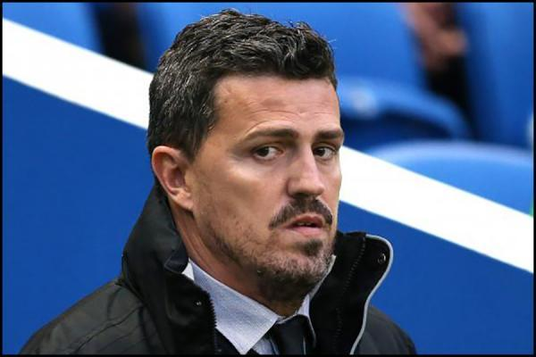 Oscar Garcia says he played attacking football at Albion but injuries to strikers hindered him