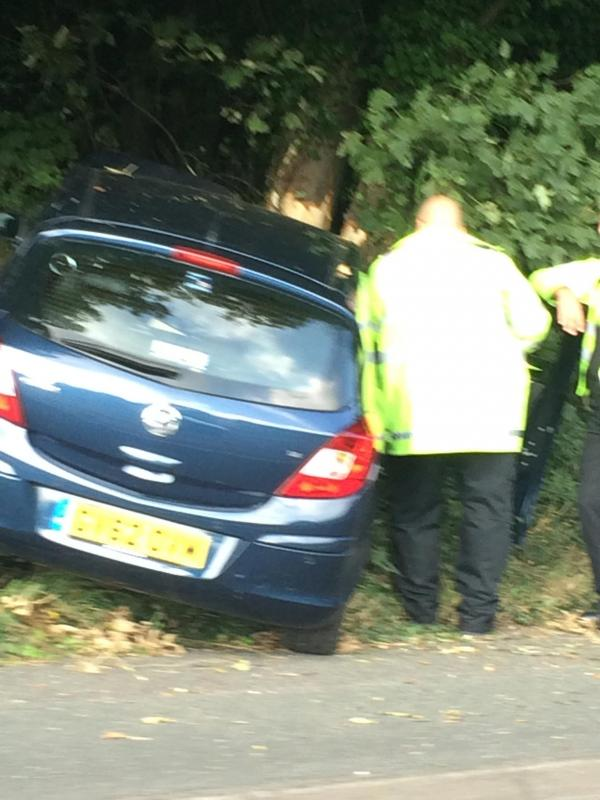 Police at the scene on the A27.  Picture: Radd Reynolds