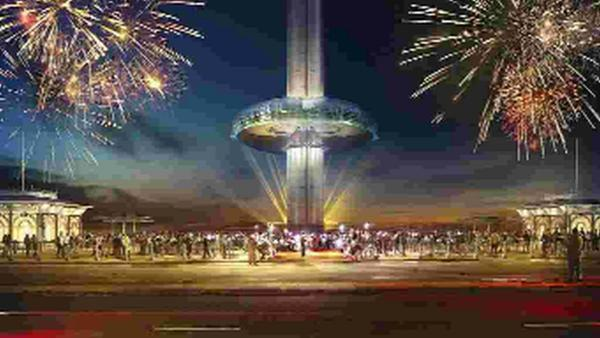 An artist's impression of how the i360 may look