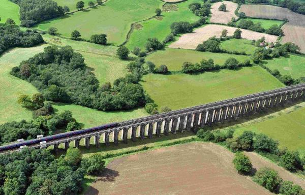 The existing London to Brighton line crosses the Balcombe Viaduct but where could a new line go without harming the countryside?
