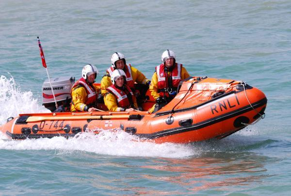 Eastbourne's inshore lifeboat