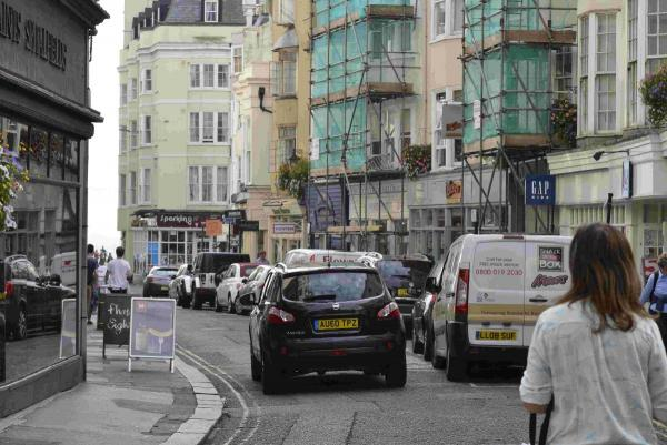 Busy shopping street could be pedestrianised
