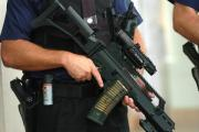 Gun sezied in armed police stand-off with man in caravan
