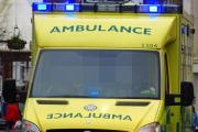 The man has apologised after refusing to move his car for an ambulance
