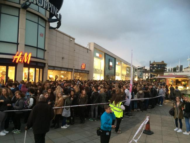 Shopping Mayhem as Students Pack into Churchill Square