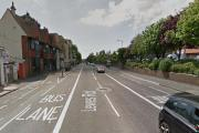 Cyclist left with head injuries after crash with bus