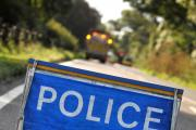 Car crashes into tree – emergency services on the scene