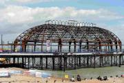 Fire-ravaged pier put on 'at risk' register of threatened buildings