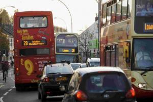 Good weather, roadworks and a Friday afternoon in half term brings Brighton to a standstill