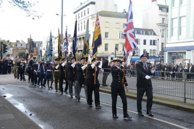 Remembrance Sunday Brighton