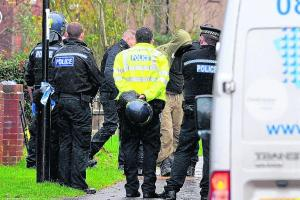 Man in five hour police siege was being evicted over council tax
