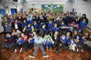 Celebrations at Hillside School, Portslade Picture: Terry Applin