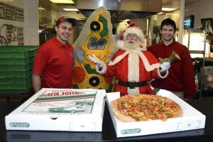 Argus Appeal has pizza the action