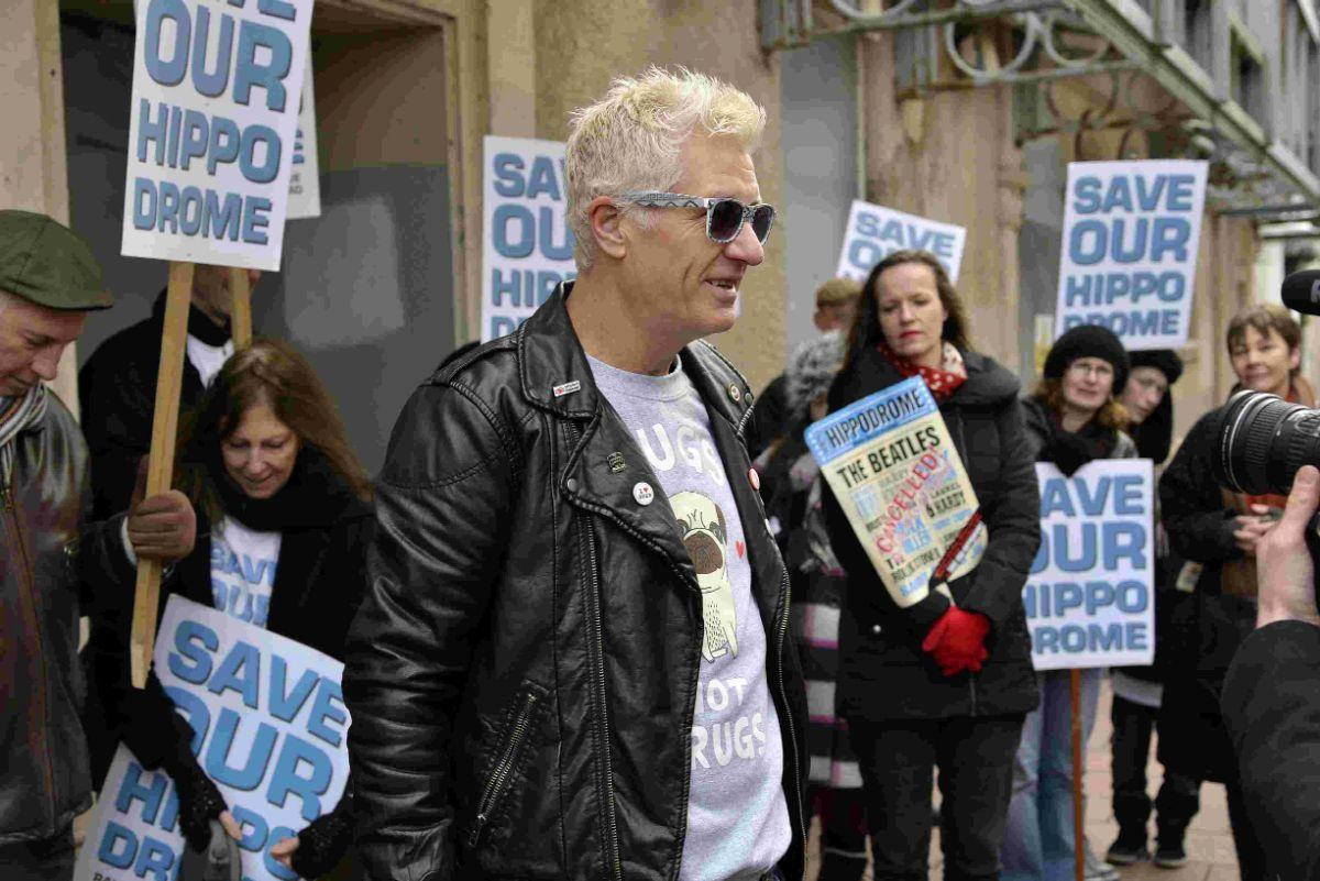Captain Sensible, co-founder of punk rock band The Damned, backs the Save Our Hippodrome campaign