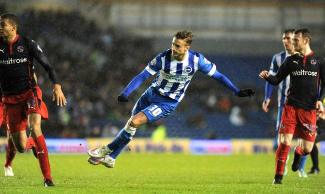 Joe Bennett is happy with life at Albion