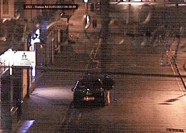 2d095f8ae5 VIDEO  Man s bizarre car attack captured on camera