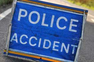 Diesel spill sparks crashes on the A27