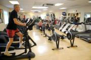 The gym at Portslade Sports Centre