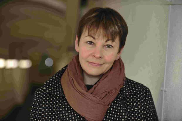 The Argus: Brighton Pavilion MP Caroline Lucas said the Government has put pressure on the police with its 'muddled' messaging