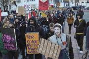 A previous demonstration in Brighton for free education
