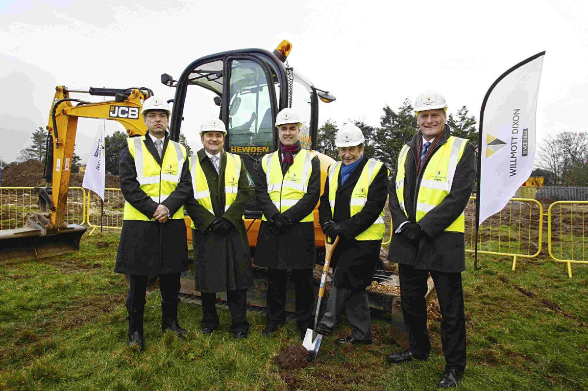 Work begins to build new Bohunt Academy in Worthing