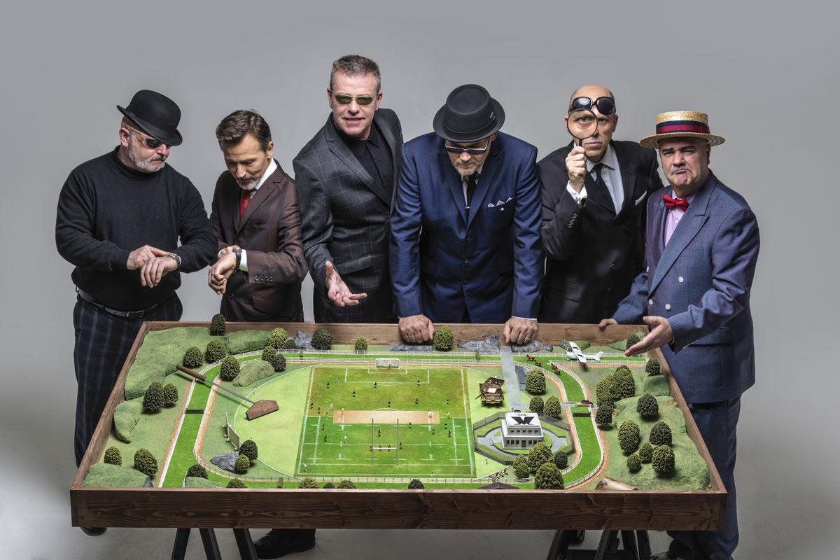 Madness plan their Hove visit. Credit Perou.