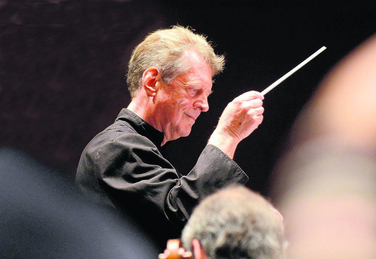 Barry Wordsworth, the music director and principal conductor of the Brighton Philharmonic Orchestra