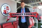 New boss Mark Yates is looking forward to the challenge at Crawley